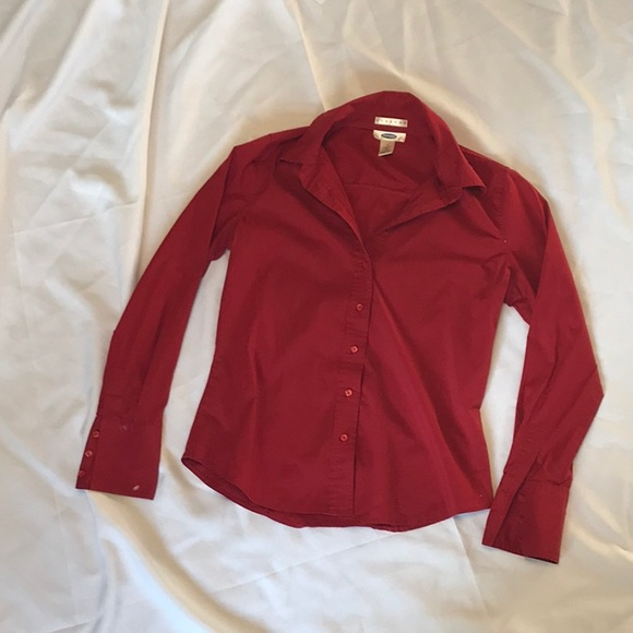 Old Navy Tops - Red button up